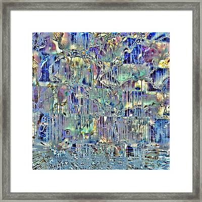 Framed Print featuring the digital art Icebreaker-no1 by Darla Wood