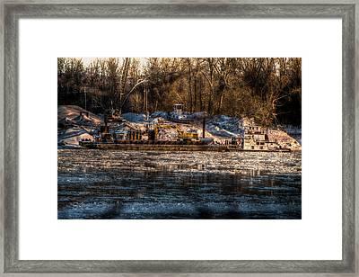 Icebreaker On The Mo Framed Print