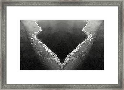 Iced Framed Print