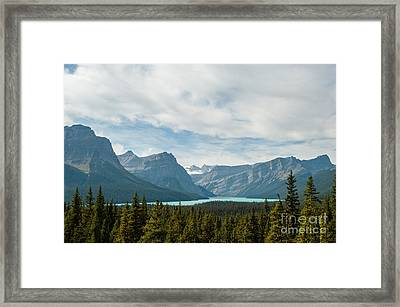 Icefields Parkway 2.0580 Framed Print by Stephen Parker