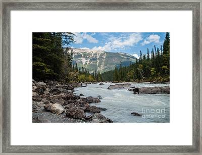 Icefields Parkway 2.0640 Framed Print by Stephen Parker