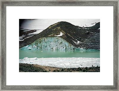Icefields Framed Print by Shirley Sirois
