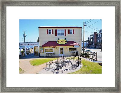 Icehouse Waterfront Restaurant 2 Framed Print