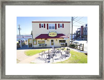 Icehouse Waterfront Restaurant 3 Framed Print
