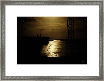 Iceland Airport Framed Print