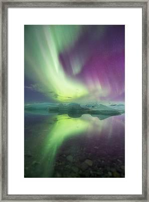 Iceland, Jokulsarlon Framed Print by Jaynes Gallery