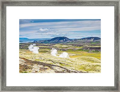 Iceland Outback Framed Print by Cliff C Morris Jr
