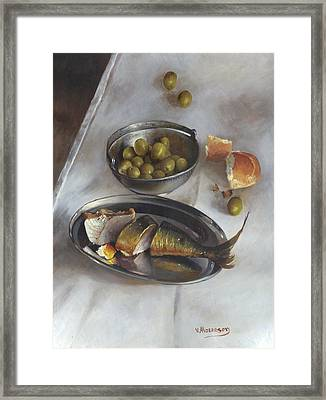 Icelandic Fish Framed Print by Victor Mordasov