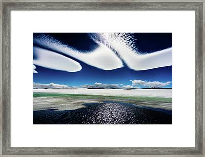 Icewind Framed Print