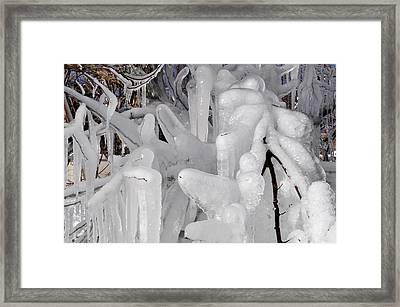 Icicles 1 Framed Print