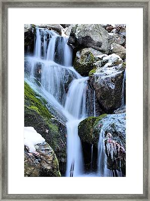 Icicles  Framed Print by JC Findley
