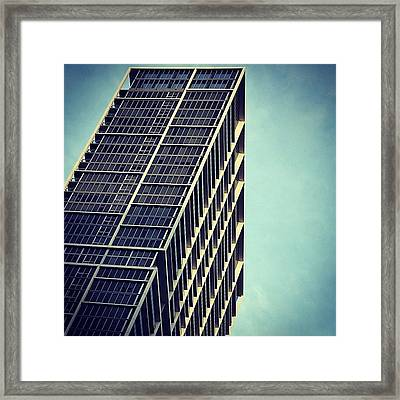 Icon Bldg. - Miami Framed Print