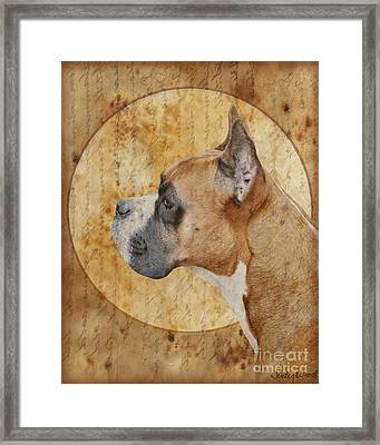 Icon Framed Print by Judy Wood