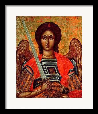 Orthodox Icon Framed Prints