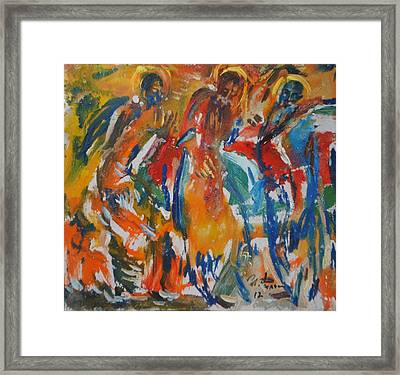 Icon Painters Framed Print by Ivan Filichev