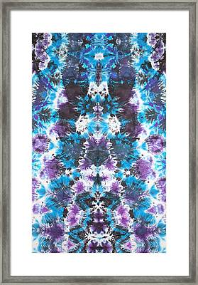 Iconagraphic Totem Framed Print by Courtenay Pollock
