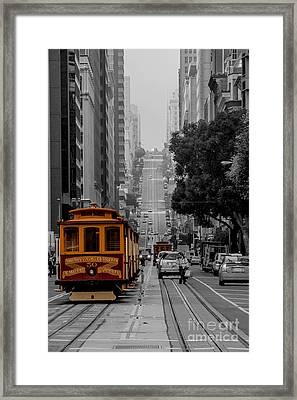 Iconic Cable Car Framed Print