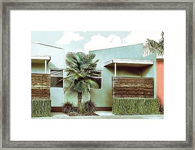 Iconic California Modern Architecture Framed Print by Dorothy Walker