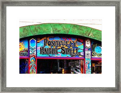 Iconic Haight-ashbury Framed Print