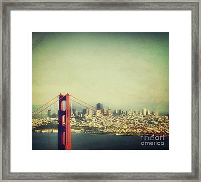 Iconic Golden Gate Bridge Framed Print