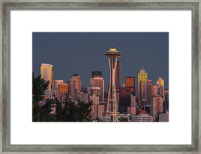 Iconic Needle Framed Print