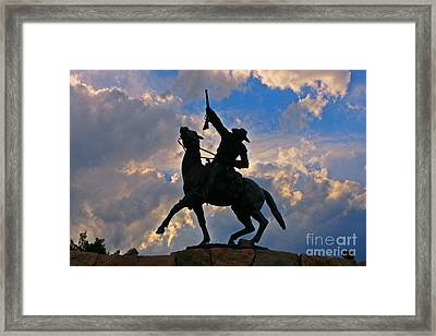 Iconic Old West Framed Print
