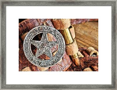 Iconic Texas Framed Print by JC Findley