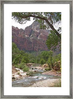 Iconic Western Scene Framed Print