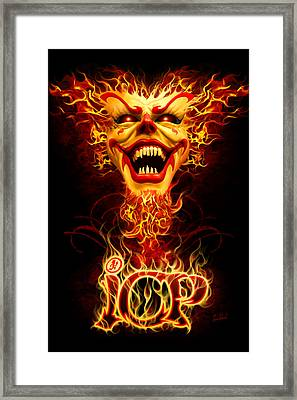 Icp Inferno Framed Print by Tom Wood