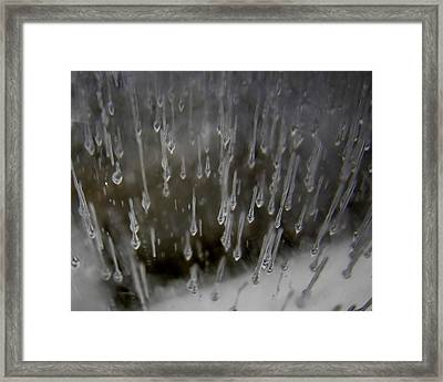 Icy Air Framed Print