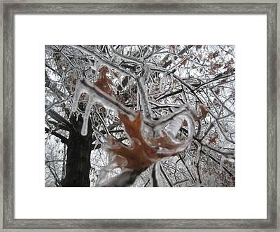 Icy Beckoning Framed Print