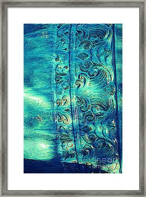 Icy Blue Framed Print by Susanne Van Hulst