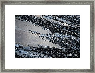 Icy Coast Framed Print by Susan Hernandez