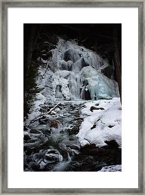 Icy Dreams Framed Print