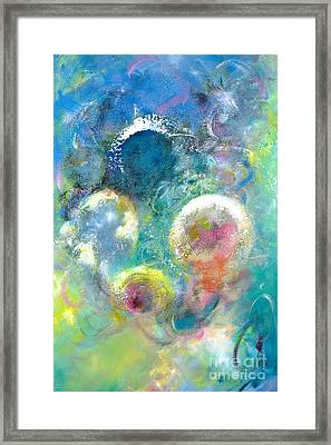 I'd Like To Be Under The Sea Framed Print
