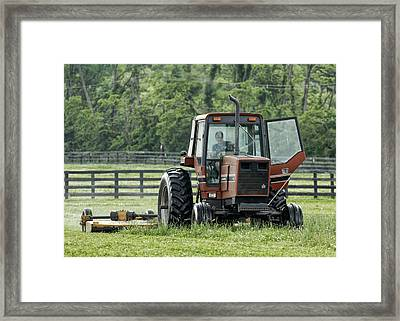 Framed Print featuring the photograph I'd Rather Be Fishing by Sami Martin