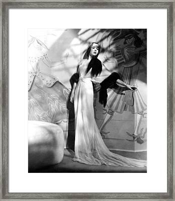 Ida Lupino, Ca. Late 1930s Framed Print