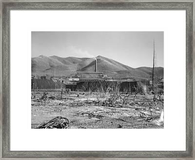 Idaho Lead Mine, 1936 Framed Print by Granger