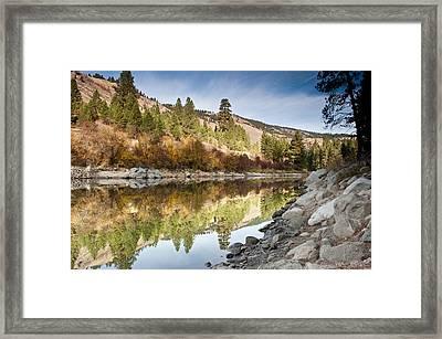 Idaho River  Framed Print