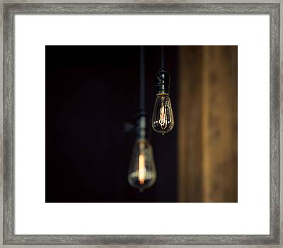 Ideas Framed Print