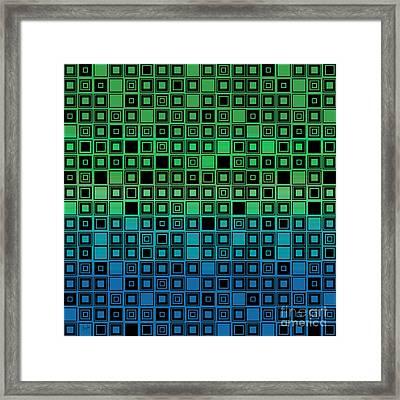 Identical Cells Framed Print by Bedros Awak