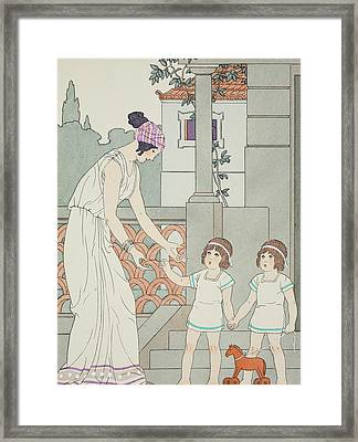 Identical Twins Framed Print by Joseph Kuhn-Regnier