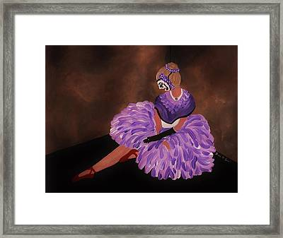 Identity Unknown Framed Print by Barbara St Jean