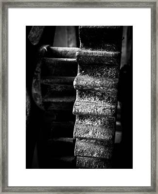 Idle Cog Framed Print by Kaleidoscopik Photography