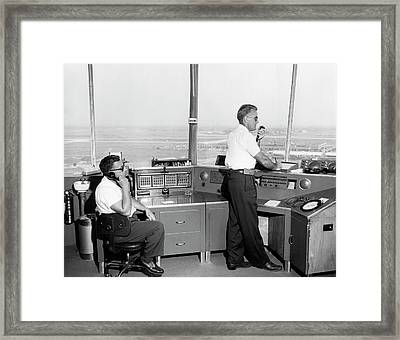 Idlewild Airport Control Tower Framed Print