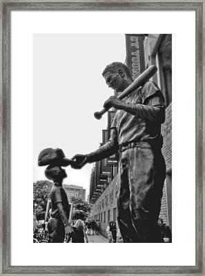 Idol Framed Print