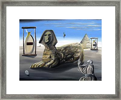 Framed Print featuring the painting Idolatary Conformity by Ryan Demaree