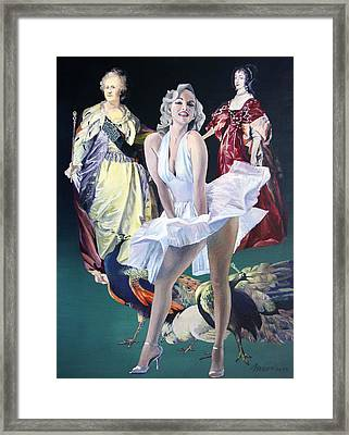Idols And Fans... Framed Print by Taidakov Nikolai