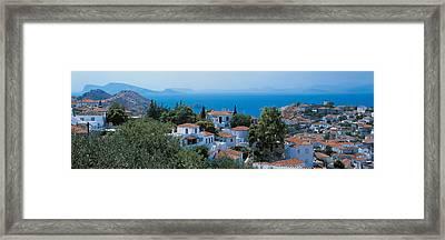 Idra Island Greece Framed Print by Panoramic Images