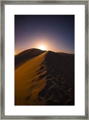 iDunes Framed Print by Aaron Bedell